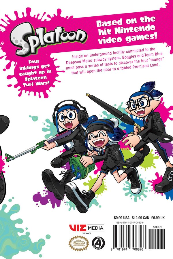 Splatoon Manga Volume 7
