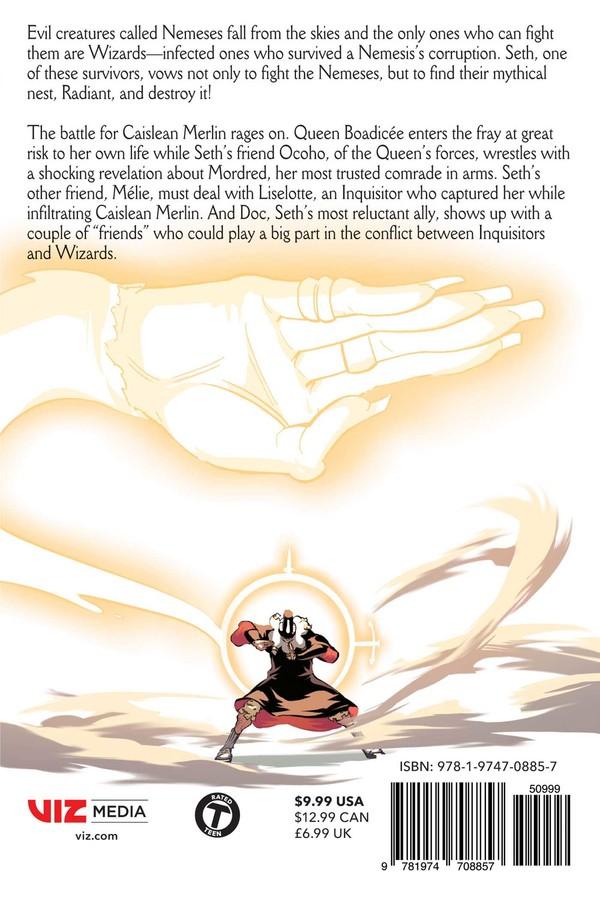 Radiant Manga Volume 9