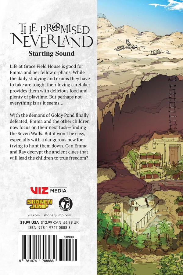 The Promised Neverland Manga Volume 12