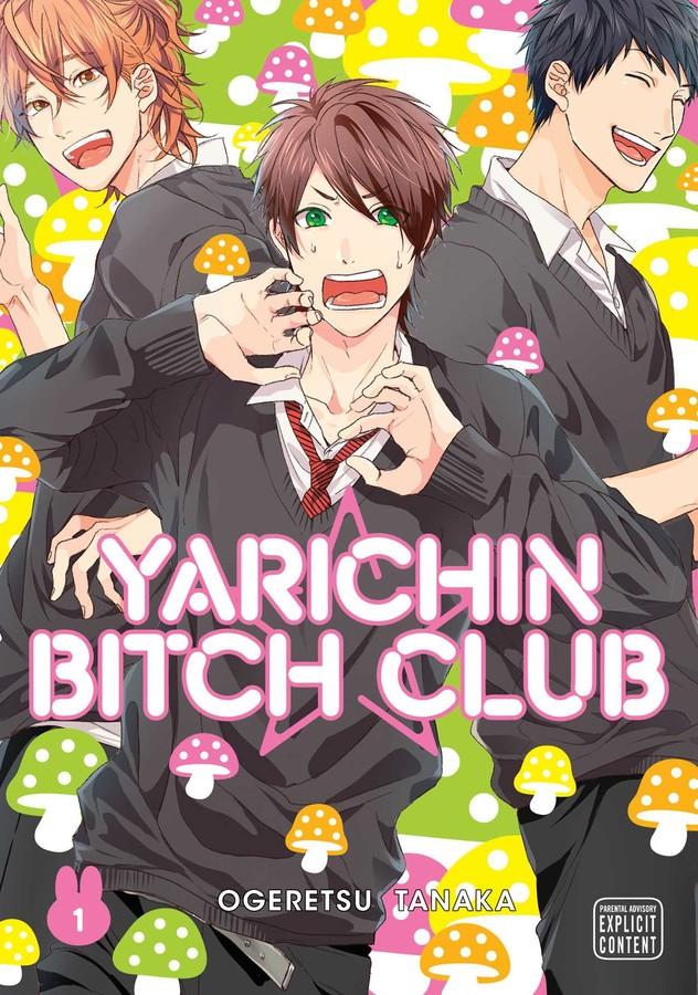 Yarichin Bitch Club Manga Volume 1