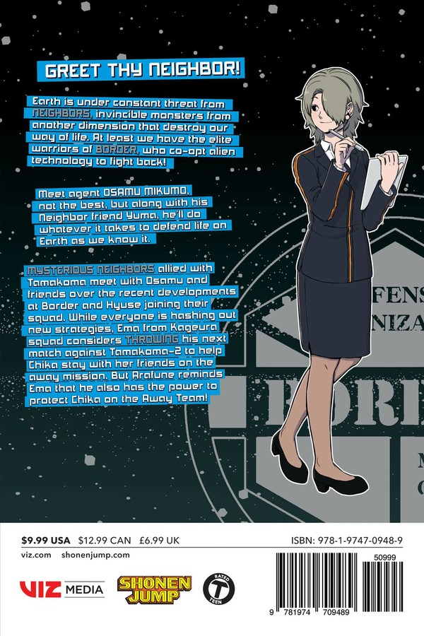 World Trigger Manga Volume 19