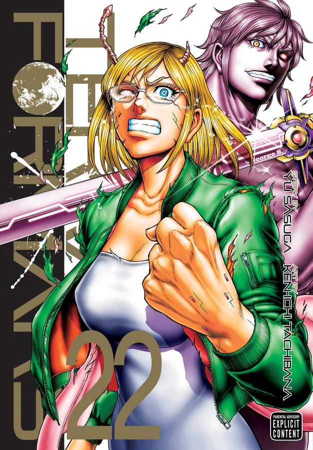 Terra Formars Manga Volume 22