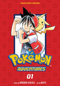 Pokemon Adventures Collector's Edition Manga Volume 1