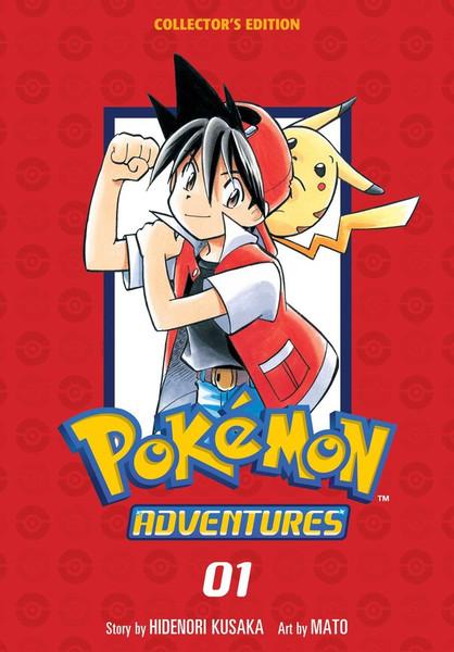 Pokemon Adventures Collector's Edition Manga Volume 1