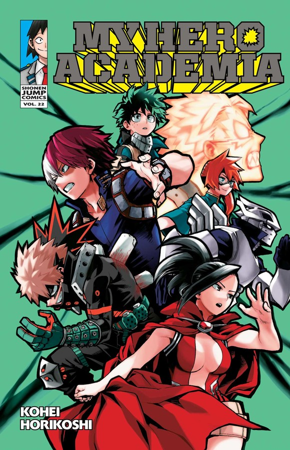 My Hero Academia Manga Volume 22