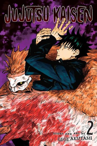 Jujutsu Kaisen Manga Volume 2