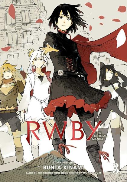 RWBY The Official Manga Volume 3