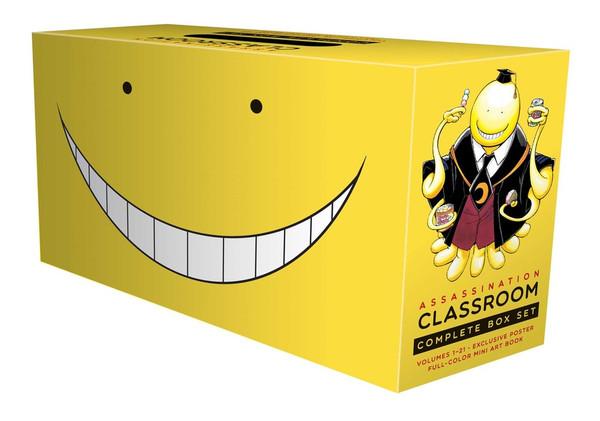 Assassination Classroom Manga Box Set