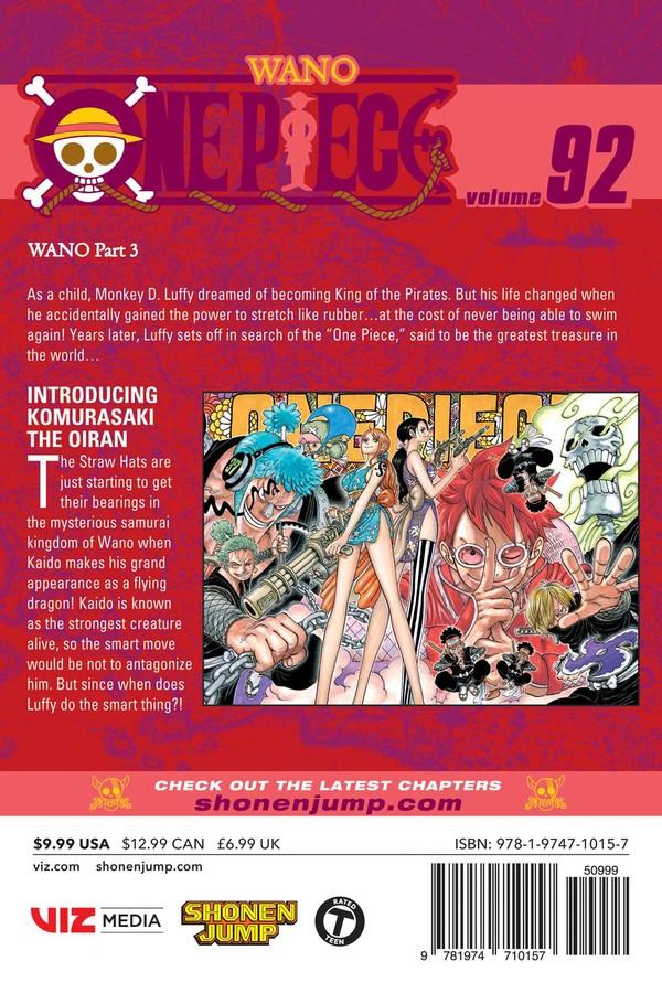 One Piece Manga Volume 92