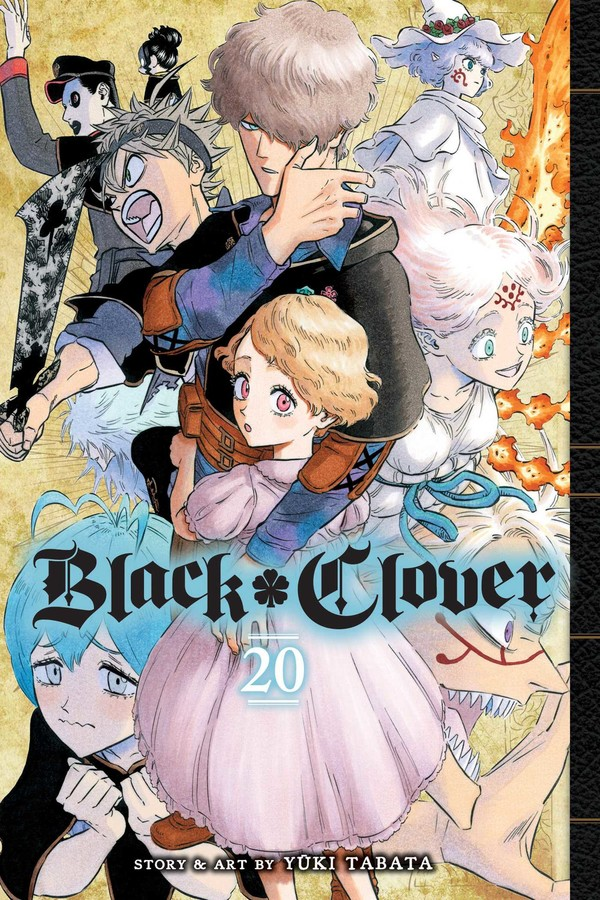 Black Clover Manga Volume 20
