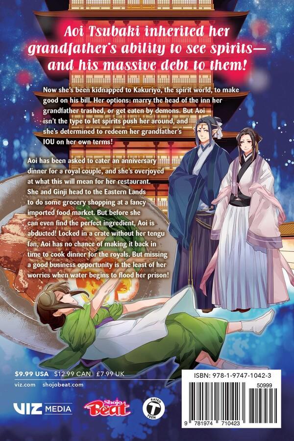 Kakuriyo Bed & Breakfast for Spirits Manga Volume 6