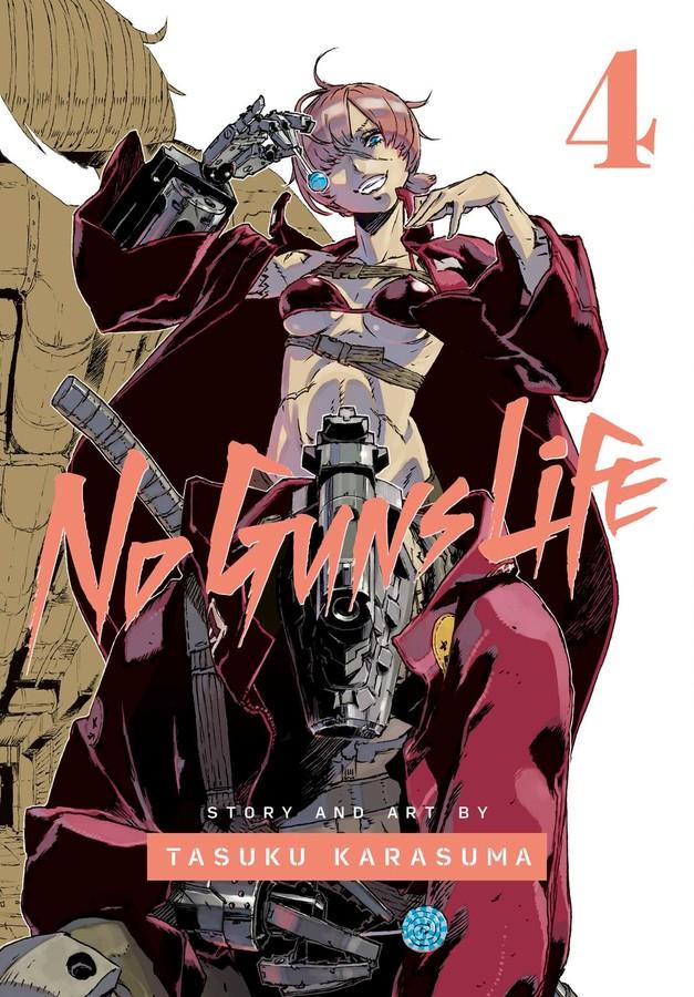No Guns Life Manga Volume 4