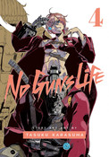 No Guns Life Manga Volume 4
