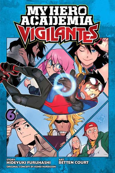 My Hero Academia Vigilantes Manga Volume 6
