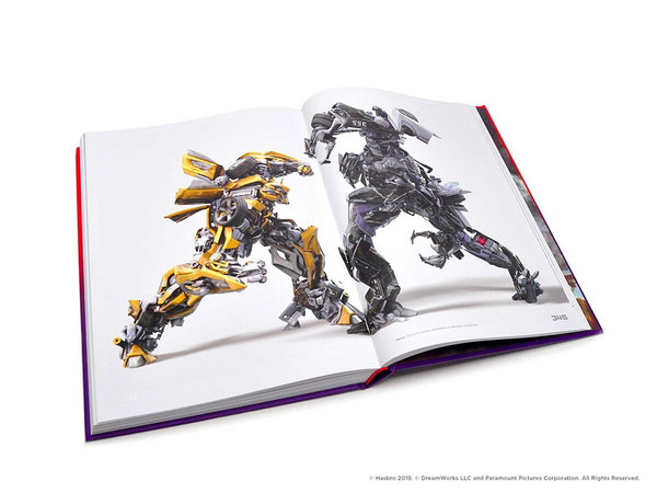 Transformers A Visual History Limited Edition Artbook (Hardcover)