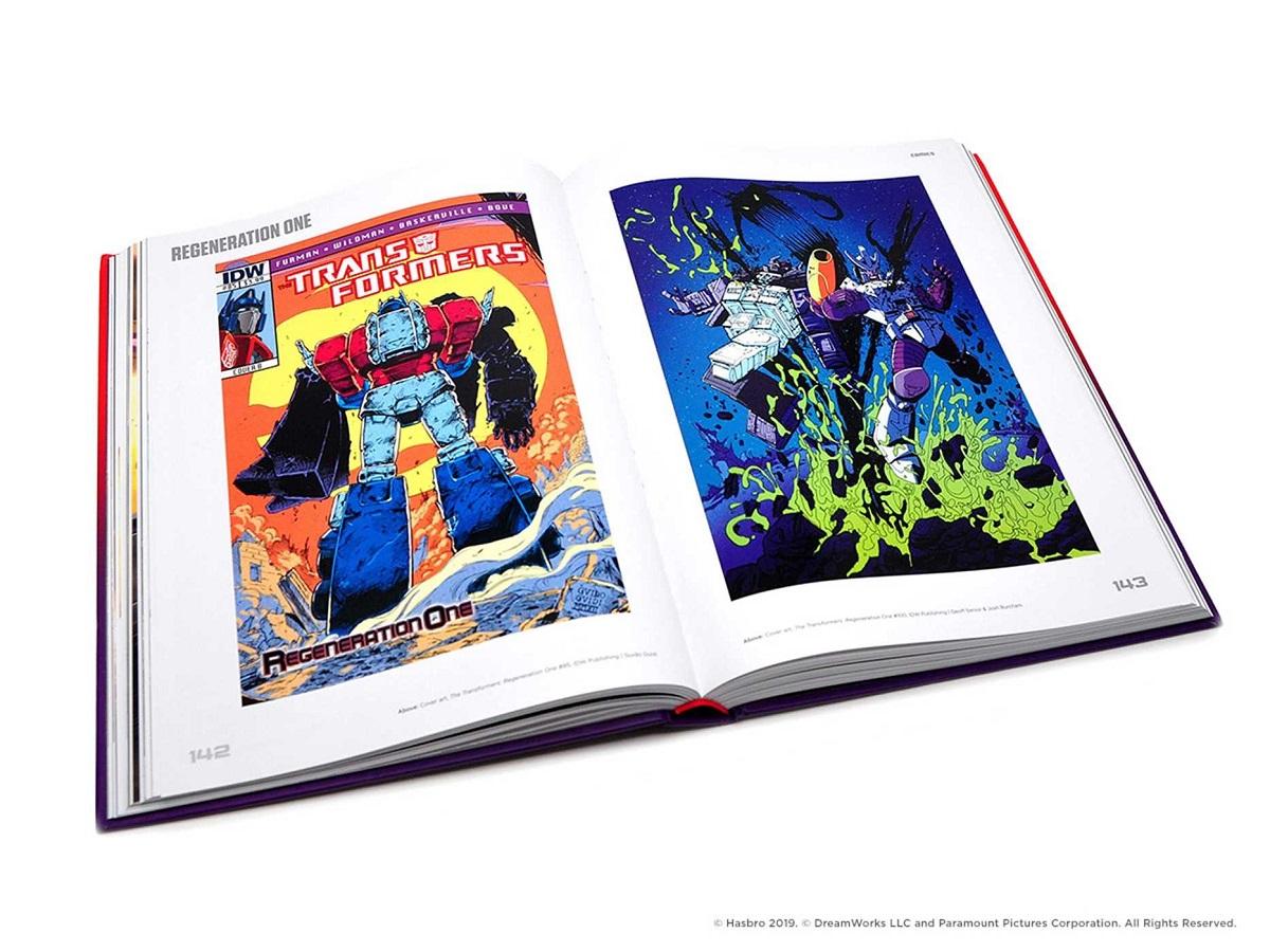 Transformers A Visual History Artbook (Hardcover)