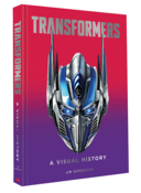 Transformers A Visual History Artbook (Hardcover)