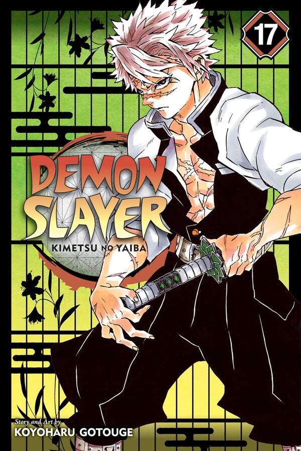 Demon Slayer Kimetsu no Yaiba Manga Volume 17