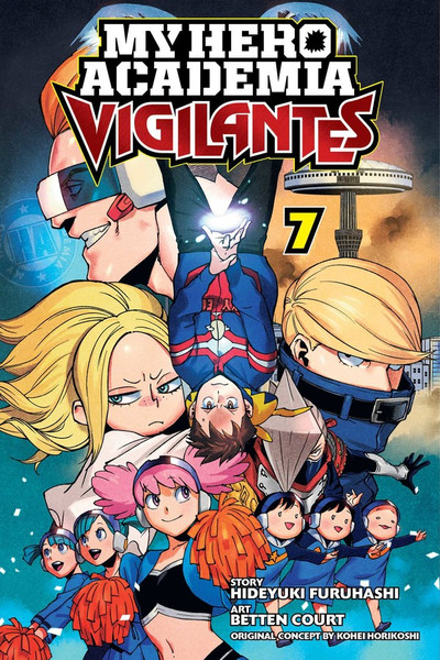 My Hero Academia Vigilantes Manga Volume 7