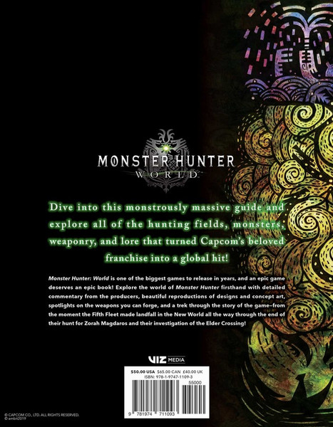 Monster Hunter World Official Complete Works