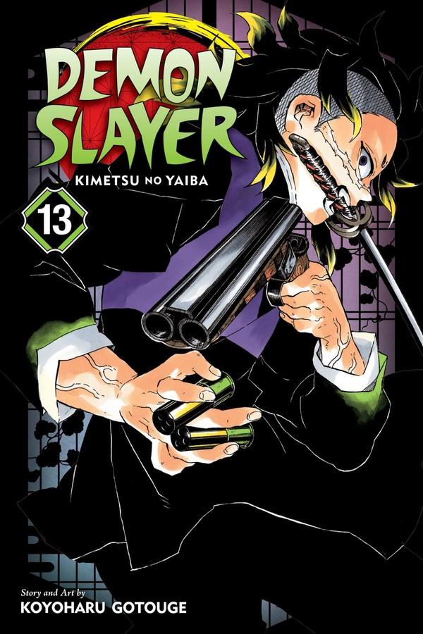 Demon Slayer Kimetsu No Yaiba Manga Volume 13