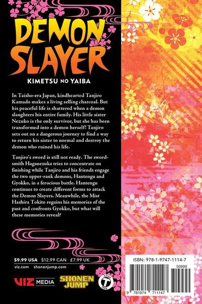 Demon Slayer Kimetsu no Yaiba Manga Volume 14