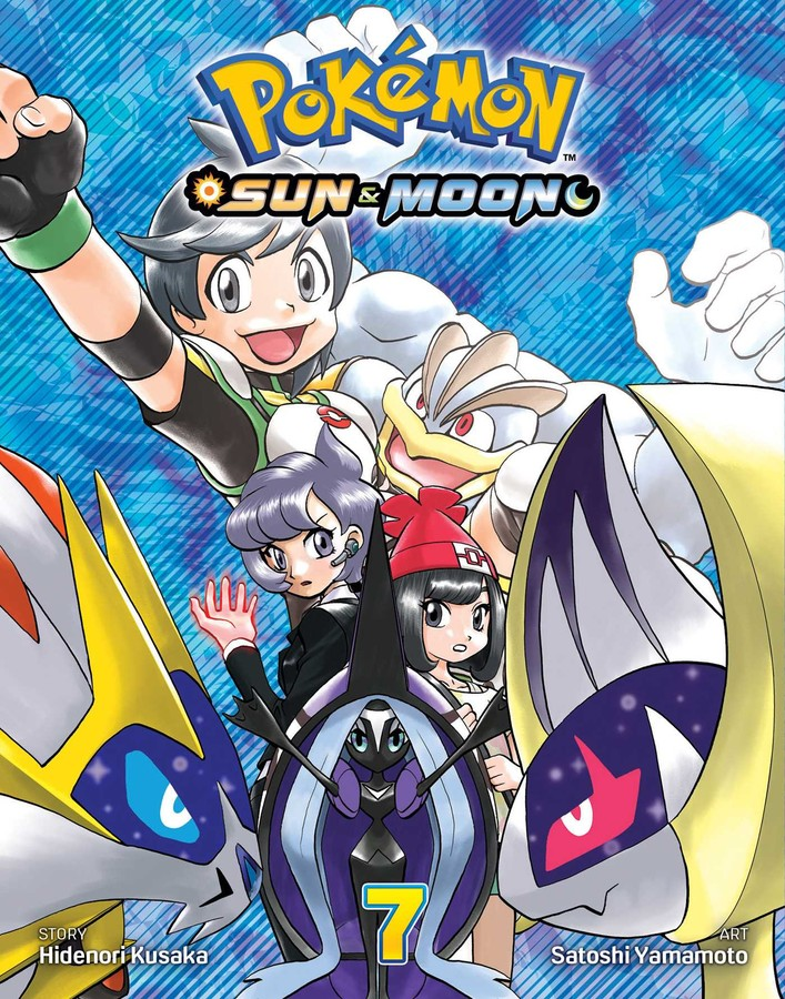 Pokemon Sun & Moon Manga Volume 7