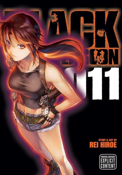 Black Lagoon Manga Volume 11