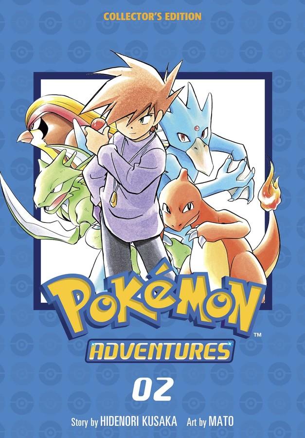 Pokemon Adventures Collector's Edition Manga Volume 2