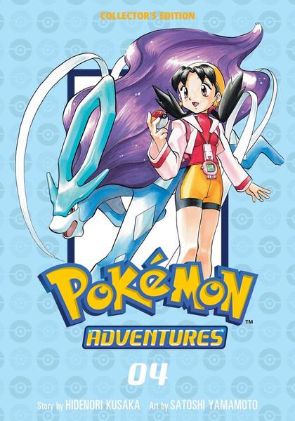 Pokemon Adventures Collector's Edition Manga Volume 4