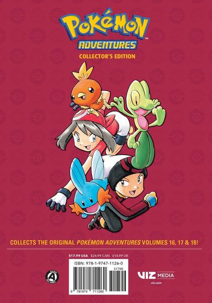 Pokemon Adventures Collector's Edition Manga Volume 6