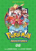 Pokemon Adventures Collector's Edition Manga Volume 8