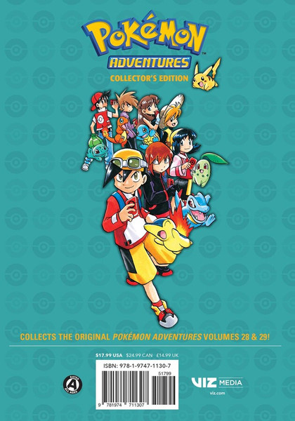 Pokemon Adventures Collector's Edition Manga Volume 10