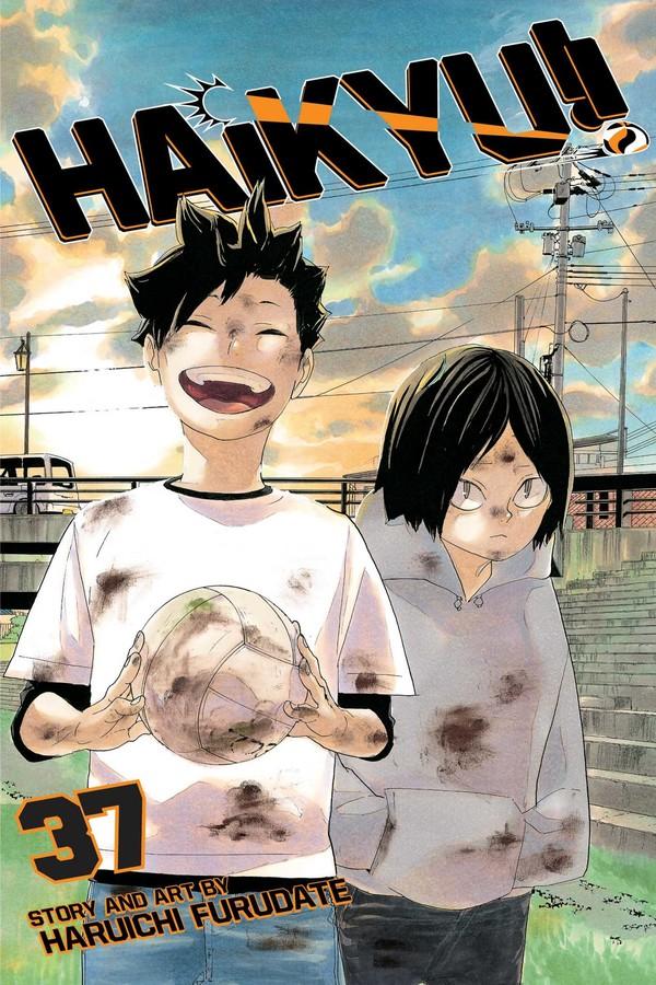Haikyu!! Manga Volume 37