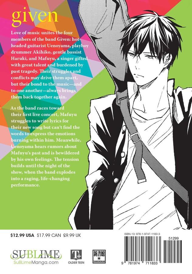 Given Manga Volume 2