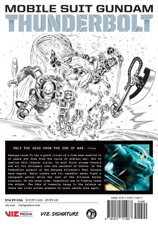 Mobile Suit Gundam Thunderbolt Manga Volume 13