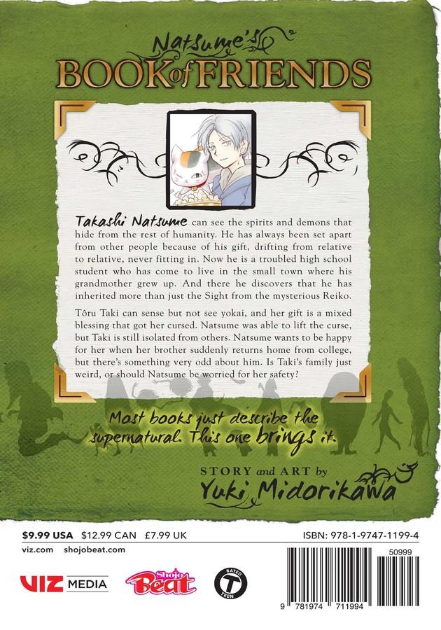 Natsume's Book of Friends Manga Volume 24