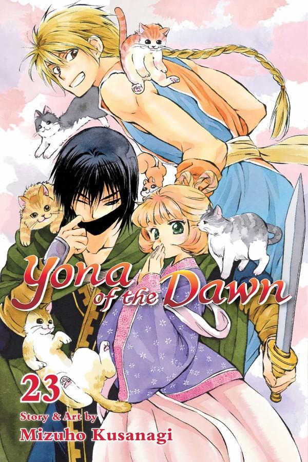 Yona of the Dawn Manga Volume 23