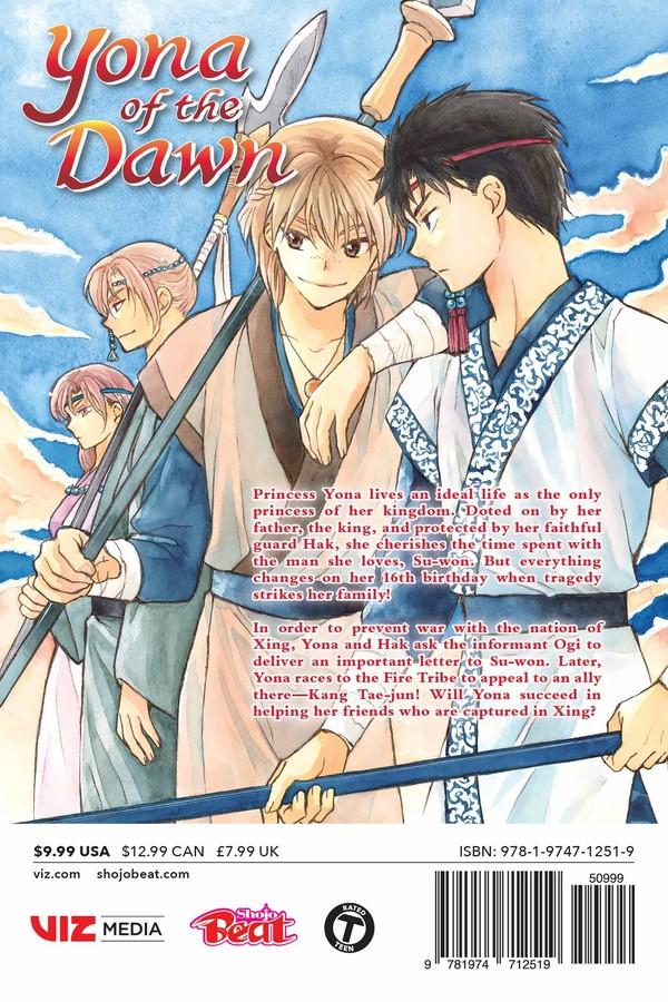 Yona of the Dawn Manga Volume 24