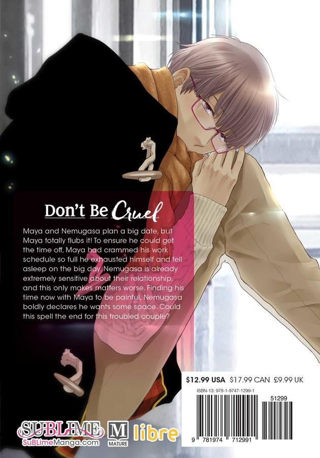 Don't Be Cruel Manga Volume 9