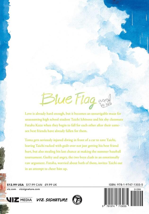 Blue Flag Manga Volume 3
