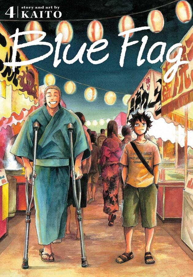 Blue Flag Manga Volume 4