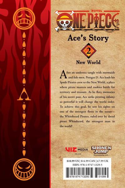 One Piece Ace's Story Novel Volume 2