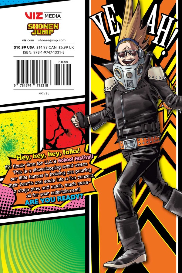 My Hero Academia School Briefs Novel Volume 4