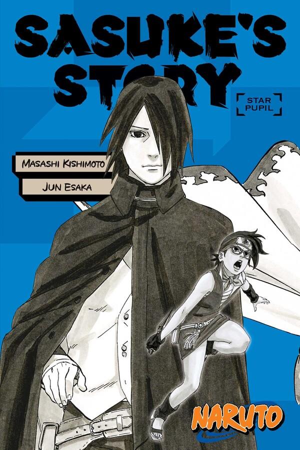Naruto Sasuke's Story Star Pupil Novel