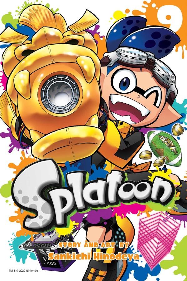 Splatoon Manga Volume 9