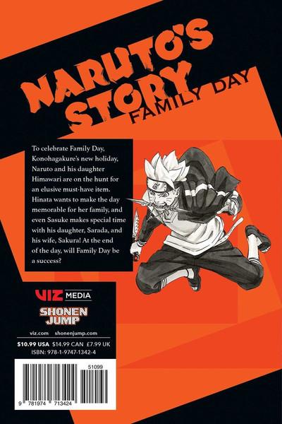 Naruto Naruto's Story Novel