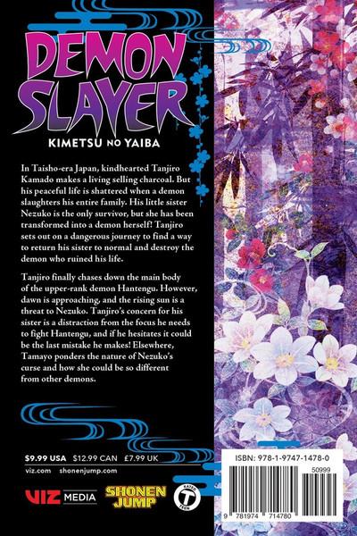 Demon Slayer Kimetsu no Yaiba Manga Volume 15