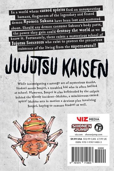 Jujutsu Kaisen Manga Volume 4