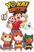 Yo-kai Watch Manga Volume 18